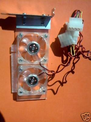 Small From Factor (Half Height) PCI PC Case VGA Video Fan Card  • 19.11£