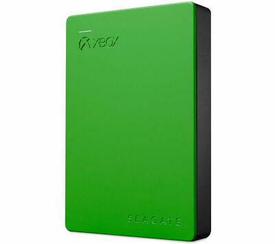 SEAGATE Gaming Portable Hard Drive For Xbox One - 4 TB, Green - Currys • 99.99£