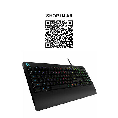 LOGITECH G213 Prodigy Gaming Keyboard - Currys • 39.99£