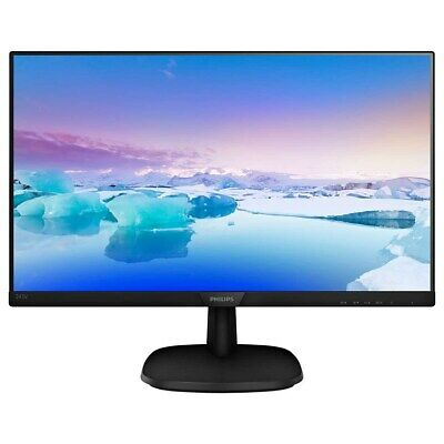 Philips 243V7QDAB 24 Inch LED IPS Monitor - Full HD, 5ms, Speakers, HDMI, DVI • 99.94£