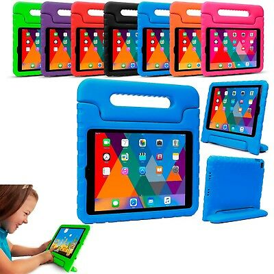 TOUGH KIDS SHOCKPROOF EVA FOAM STAND CASE COVER FOR APPLE IPad 3 4 5 Air 2 Mini • 8.49£