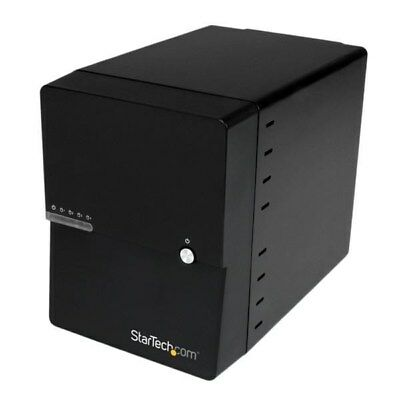 StarTech.com USB 3.0 / ESATA 4-Bay (3.5 Inch) SATA III Hard Drive Enclosure With • 108.60£