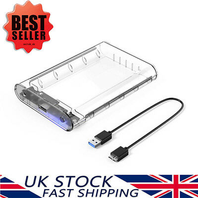 ORICO 3.5'' Inch External USB 3.0 SATA HDD Hard Drive Enclosure Caddy Case UASP • 19.69£