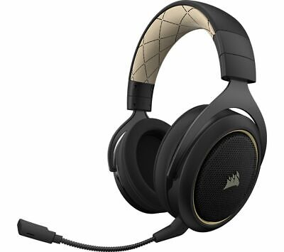CORSAIR HS70SE Wireless 7.1 Gaming Headset - Black & Gold - Currys • 69.99£