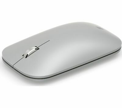 MICROSOFT Surface Mobile Wireless Mouse - Silver - Currys • 25£
