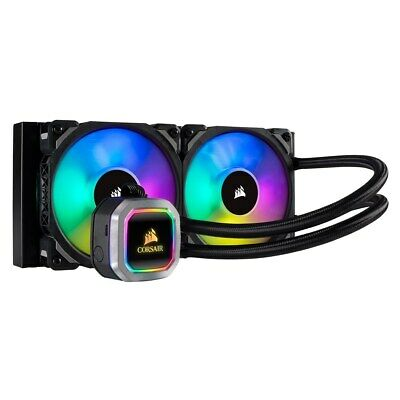 Corsair Hydro Series H100i RGB PLATINUM (240mm) Liquid CPU Cooler • 116.32£