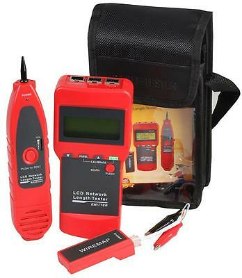 Wire Tracker Toner And Probe Network Cable Tester  • 89.99£