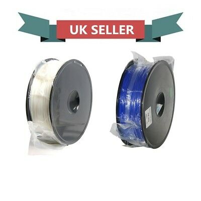 From UK Geeetech 1KG/Pack White & Blue Color Filament 1.75mm PLA For 3D Printer • 31.80£