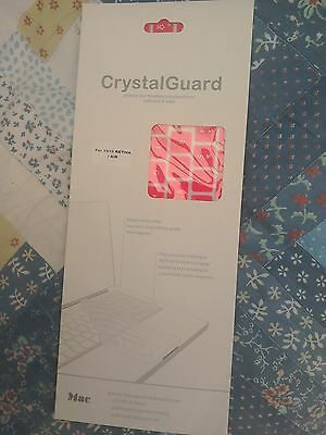 Crystal Guard Keyboard Cover - Pink For Apple Macbook 13 / 15  • 5£