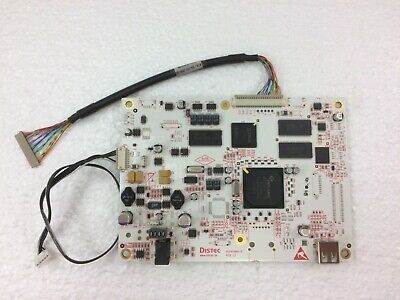 Distec Video Driver Pcb Pcb 1.2 Complete With Lvds Lead • 39.99£