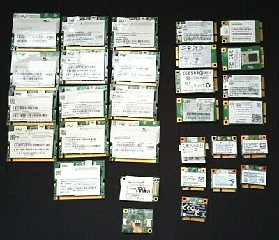 Large Lot Of Laptop Wifi Cards (see Photo`s Read Description) • 10£