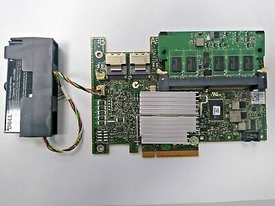 Dell PERC H700 11G 512MB NV - FH PCIe-x8 RAID Controller XXFVX With Battery  • 29.95£