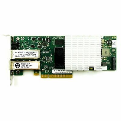 HP NC523SFP 10Gb 2-PORT SERVER ADAPTER (LOW PROFILE BRACKET) 593742-001 RM • 14.75£