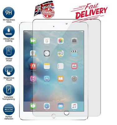 Genuine Tempered Glass Film Screen Protector Apple IPad 10.5  Inch AIR 3 2019 • 3.99£