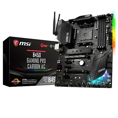 CCL 4.4GHz AMD Ryzen 5 3600X Bundle - MSI B450 GAMING PRO CARBON AC Motherboard • 339.99£