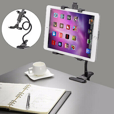 Gooseneck Arm 360 Bed Desk Lazy Stand Holder Mount For Ipad Air IPhone Black • 5.99£