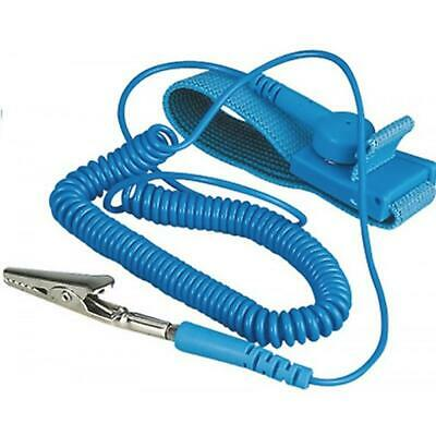 Anti Static Wrist Strap Grounding Electricity Discharge ESD Band Bracelet • 2.99£