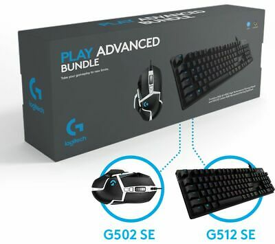 LOGITECH G Play Advanced Gaming Keyboard & Mouse Set - Currys • 80£