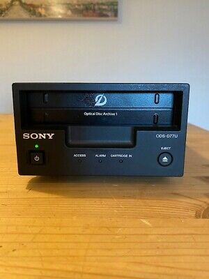 Sony ODS-D77U Optical Disc Archive Machine - Used But Good Condition. • 500£