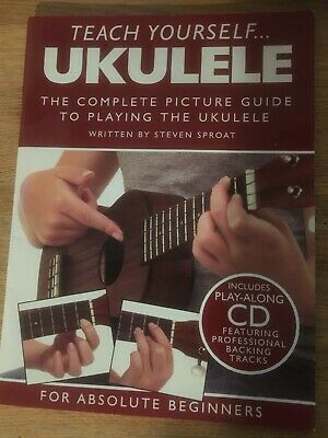 Teach Yourself Ukulele Book - Absolute Beginners - CD • 8.99£