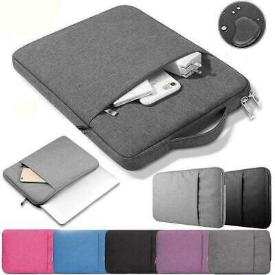 Laptop Sleeve Bag Carry Case Pouch Cover For MacBook Mac Air/Pro/Retina 11 13 15 • 10.99£
