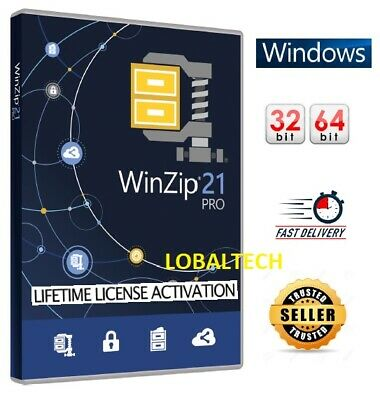 WinZip 21 PRO - LIFETIME - Full Activation - For One PC - For WINDOWS  • 2.49£