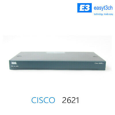 Cisco 2600 XM Series Wired Ethernet Router- Cisco2621 • 50£