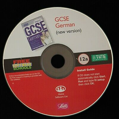 Revise For GCSE German Revision PC CD-ROM • 2.99£
