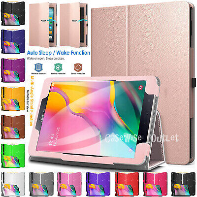 Folio Leather Flip Smart Stand Case Cover For Samsung Galaxy Tab A 10.1  In 2019 • 5.56£