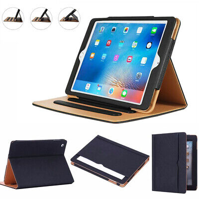 Luxury Magnetic Leather Smart Flip Case For IPad 2/3/4 Air1/2 Mini 1/2/3 • 7.49£