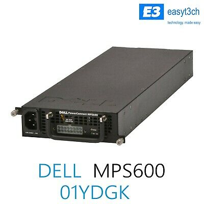 Dell PowerConnect MPS600 External Redundant Power Supply PSU 01YDGK 1YDGK • 24.99£