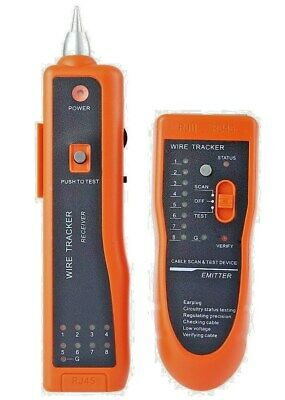 XQ - 350 Wire Tracker  - Network Cable &Telephone Line Tester • 25.99£