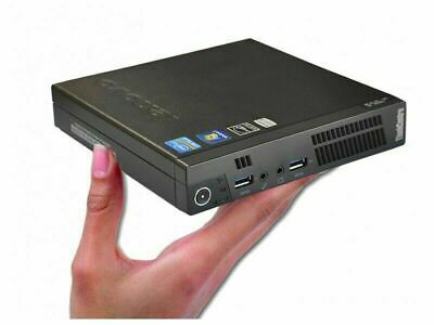 Lenovo ThinkCentre M93p Tiny Mini PC I5-4570T 3.6GHz 4/8/16GB RAM 128/240GB SSD • 239.99£