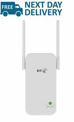 BT WiFi Signal Booster Broadband Range Extender Adapter Fast Wireless Connection • 34.99£