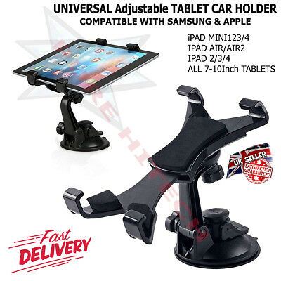 Car Dashboard Tablet Mount Holder 360 Rotation For 7-10 Inch IPad Mini Samsung • 6.99£