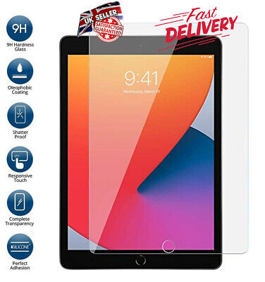 Genuine Tempered Glass Film Screen Protector Apple IPad 9.7-inch (2018) 6th GEN • 3.89£