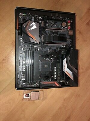 AMD Ryzen 5 2600x & Aorus X470 Ultra Gaming Motherboard Bundle • 150£