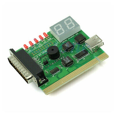 Post Tester Display USB Desktop Diagnostic Card PCI PC Motherboard With Light • 5.31£