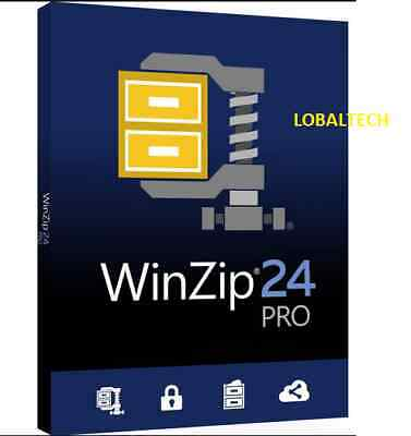 WinZip 24 PRO - LIFETIME - For One PC - For WINDOWS 64 Bits Only • 2.25£