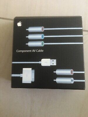 Apple Component AV Cable • 5£