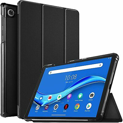 For Lenovo Tab M10 Plus Case Premium Smart Book Stand Cover (TB-X606F) • 7.99£