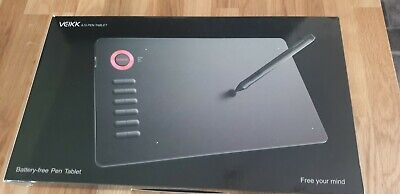 VEIKK A15 Graphics Drawing Tablet With Pen - Blue • 25£
