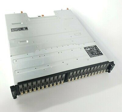 Dell EqualLogic PS6100 Array - 23x 900GB SAS 2.5  Drives - 2x Control Module 11 • 739.99£