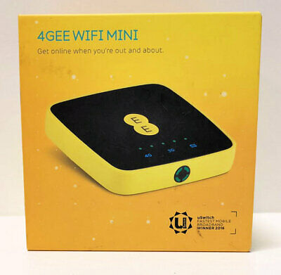 Alcatel 4GEE WIFI MINI MBB Wireless Dongle Hotspot EE Network • 34.99£