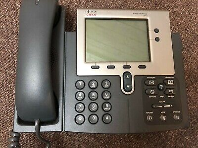 7 X CISCO 7940 IP Phones Job Lot Professional Work Office Internet  • 100£