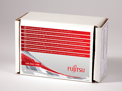 Genuine Fujitsu CON-3541-100K Consumable Kit Scansnap S1300i S1300 S300 Open Box • 29£