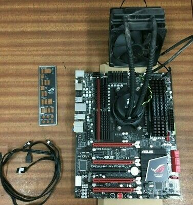 ASUS Crosshair V Formula Motherboard + AMD FX 6100 3.30GHz 6Core CPU + 16GB RAM • 175£