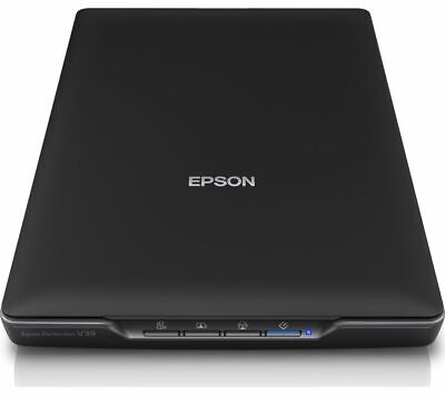 EPSON Perfection V39 Colour Flatbed Scanner Contact Image Sensor Black - Currys • 89.99£