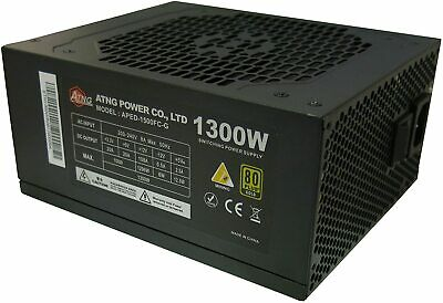 ATNG APED-1300FC 1300W Power Supply 80 Plus Gold, CE, PFC • 99.99£