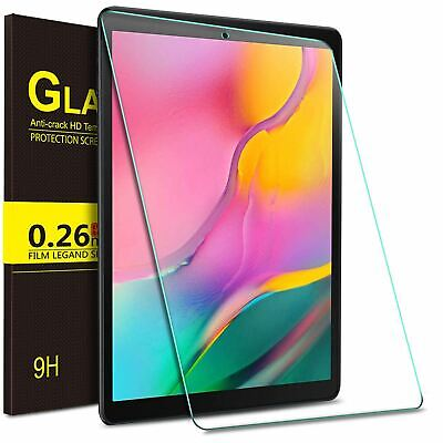 Tempered Glass Screen Protector For Samsung Galaxy Tab A 10.1 T510 T515 T580/585 • 2.89£